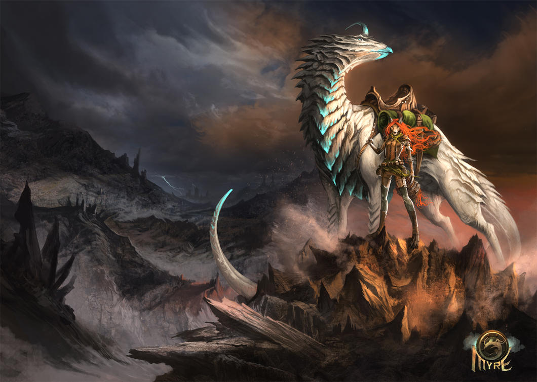 Myre - Journeys Dawn by AlectorFencer