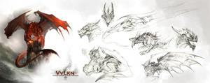Vvlkn Charactersheet by AlectorFencer