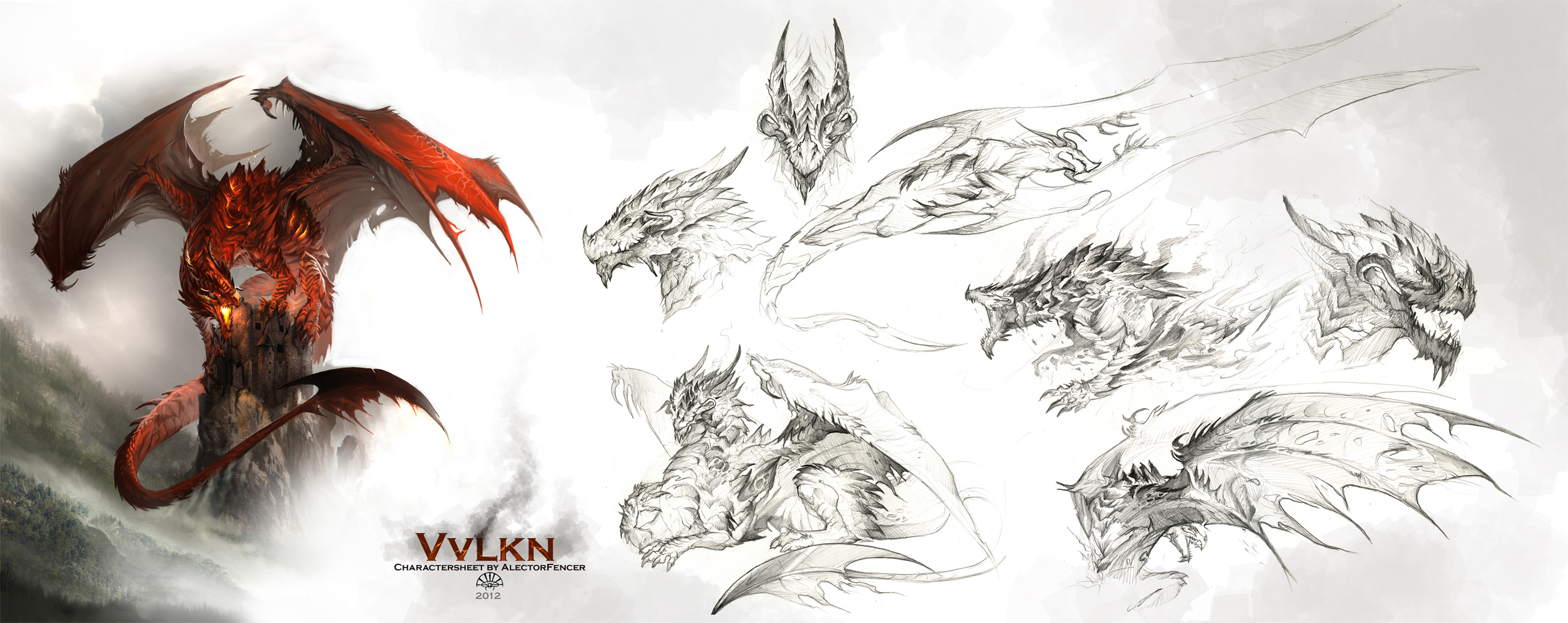 Vvlkn Charactersheet by AlectorFencer