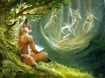 Whenever I read... by AlectorFencer