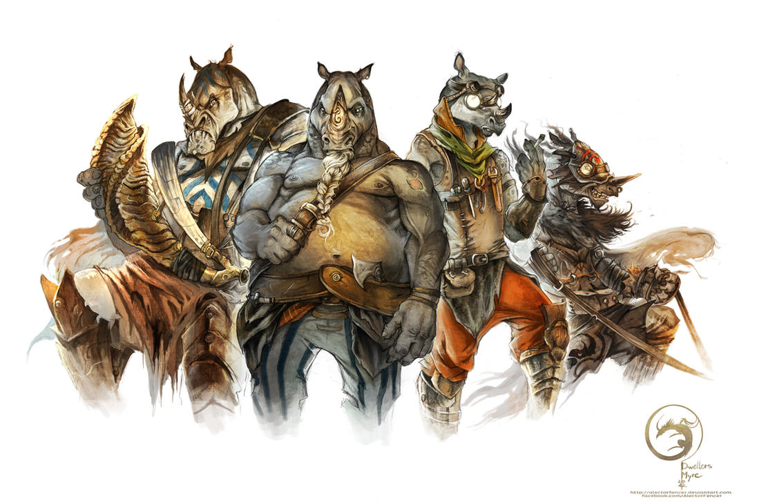 Golgos Crew by AlectorFencer