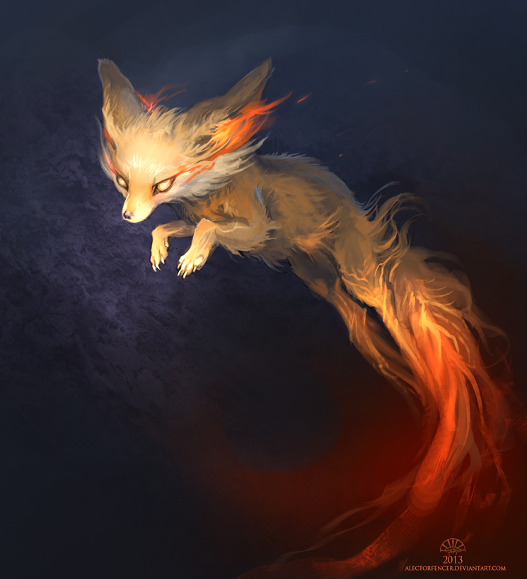 Fennekin Blaze by AlectorFencer