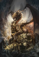 Dragons of Incense - Dammar by AlectorFencer