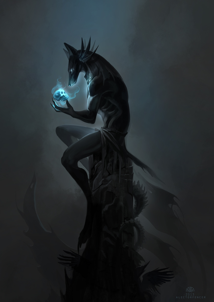 In Darkness he waits by AlectorFencer
