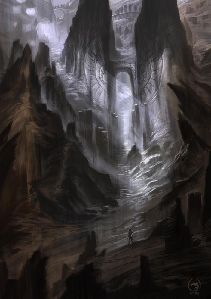 MYRE - Gate of Dyrr by AlectorFencer