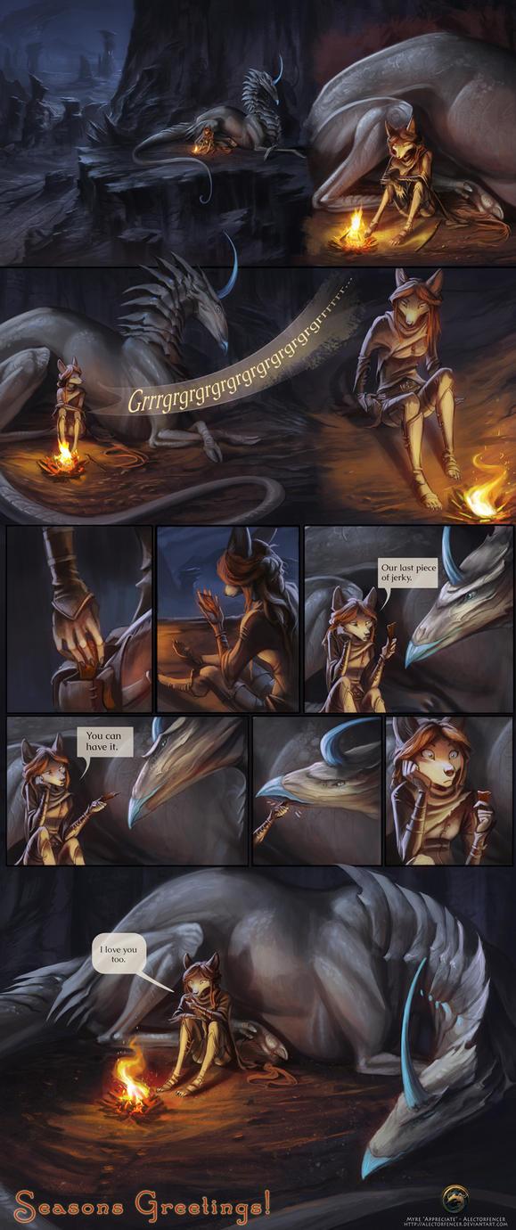 Myre - Appreciate Short Comic by AlectorFencer