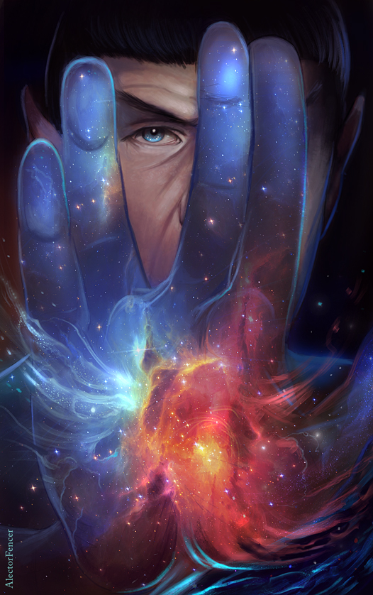 One with the Universe by AlectorFencer