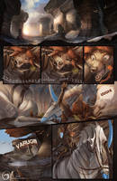 Myre Page - Just A Normal Day by AlectorFencer