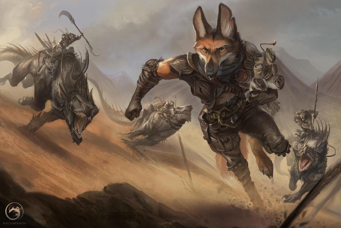 Samyel - Chronicles of Yria by AlectorFencer