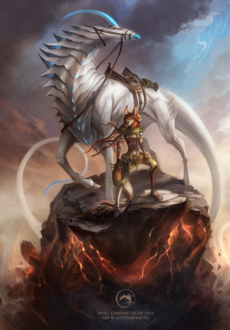 Myre - Chronicles of Yria Cover by AlectorFencer