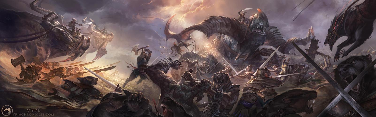 Myre - War by AlectorFencer