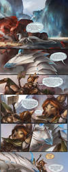 PLOT TWIST - Myre Short Comic by AlectorFencer