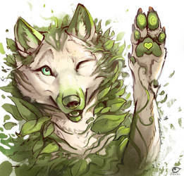 Leafy Love by AlectorFencer