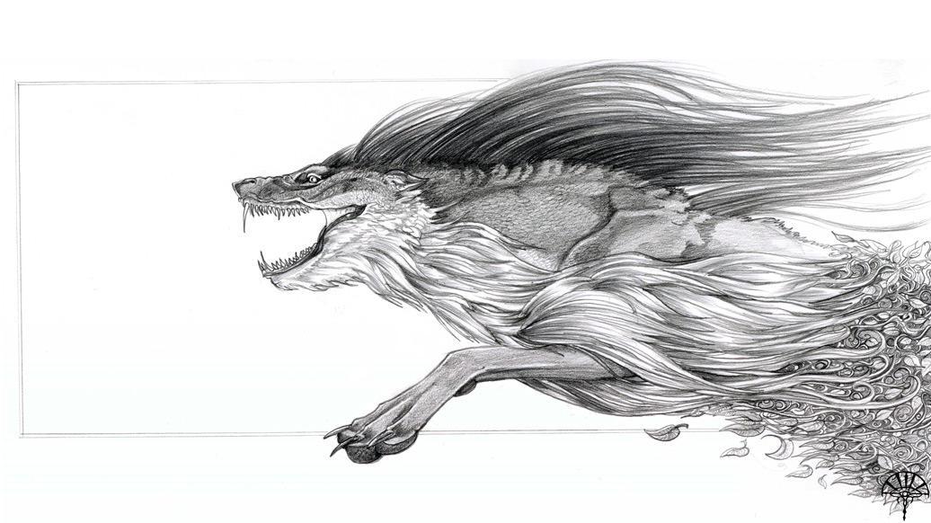 Draco Lupus by AlectorFencer