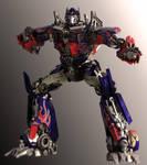 Optimus Prime DOTM Pose 2