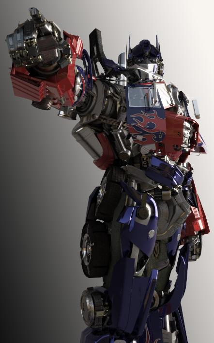 Optimus Prime DOTM Pose 1 by yongkykun