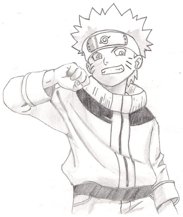 how to draw a picture of naruto