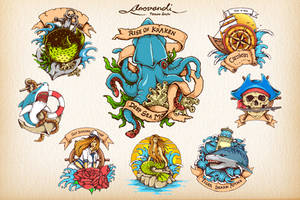 Classic Tatto Illustration by tsvcreative