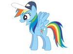 Incredibly Happy Rainbow Dash