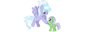 Cloudchaser and Mintleaf