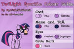 Twilight Sparkle Colour Guide