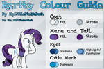 Rarity Colour Guide