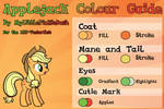 Applejack Colour Guide