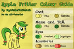 Apple Fritter Colour Guide