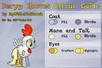 Derpy Hooves Colour Guide