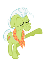 Granny Smith - Apple Family Portrait by Atmospark