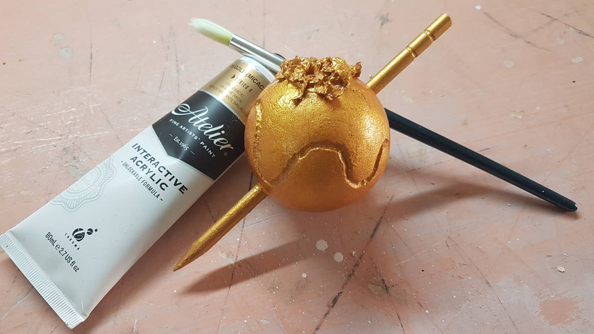 Golden Toothpick by Atmospark