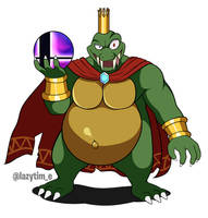 King k rool - SSBU by lazy-Time