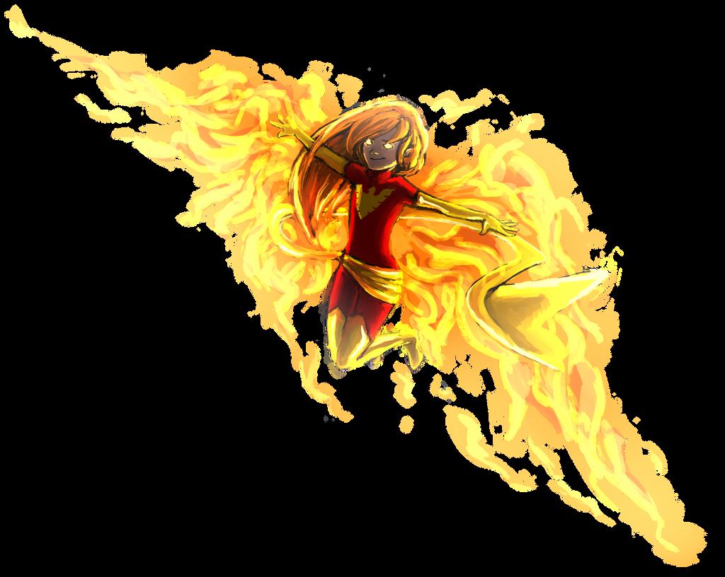 fire fenix by RinkaManoha