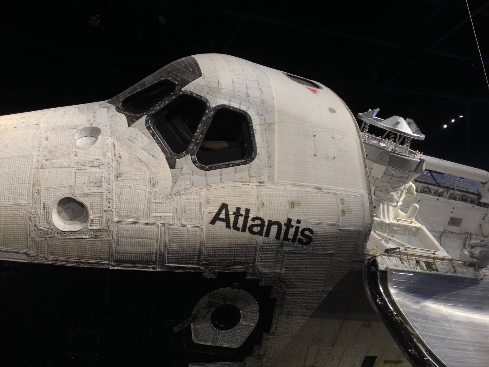 space shuttle nose - photo #19