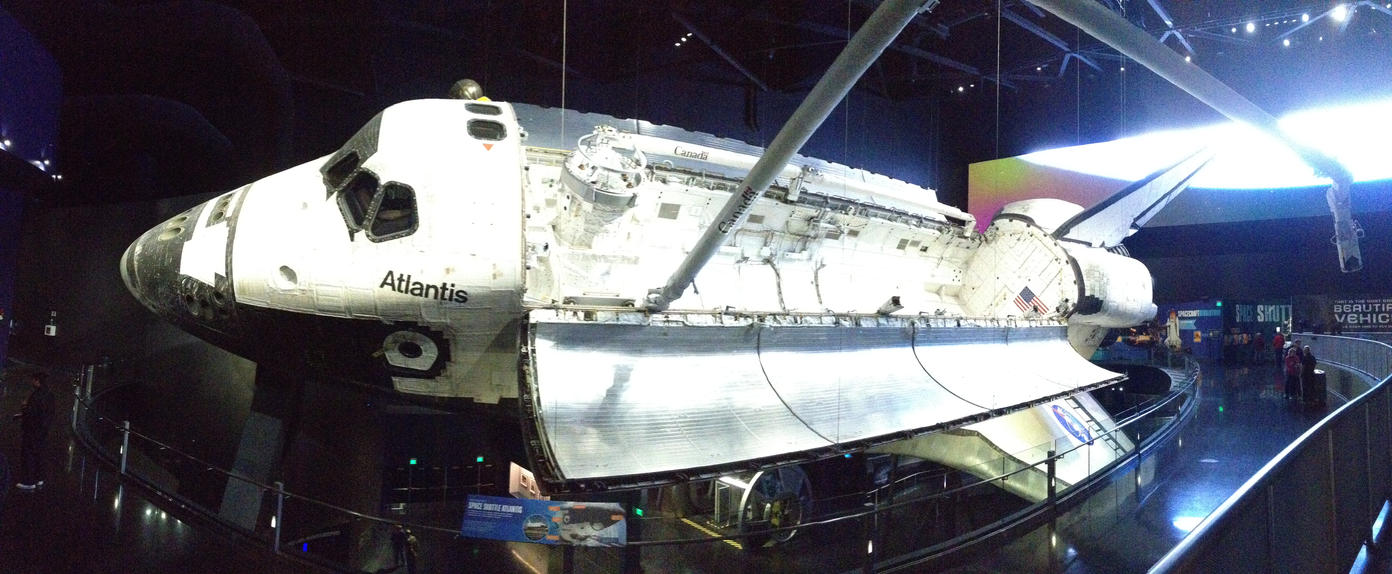 Space Shuttle Atlantis - Panorama by Caine-of-Nod on ...