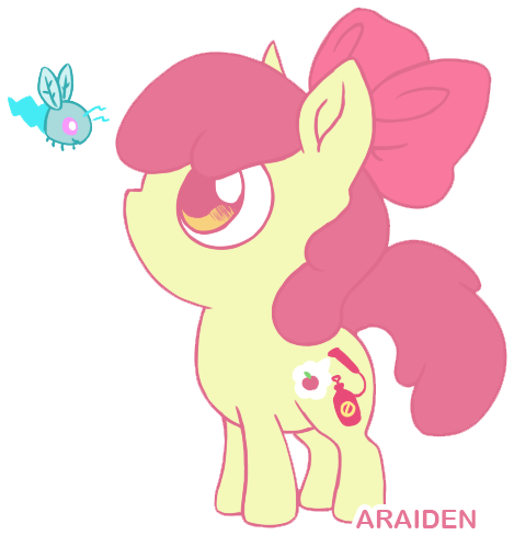 Apple Bloom And Twittermite by araiden