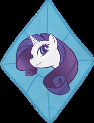 Rarity Diamond by flyingpiggie