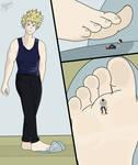 Shrunken Deku #3 - Giant Bakugo