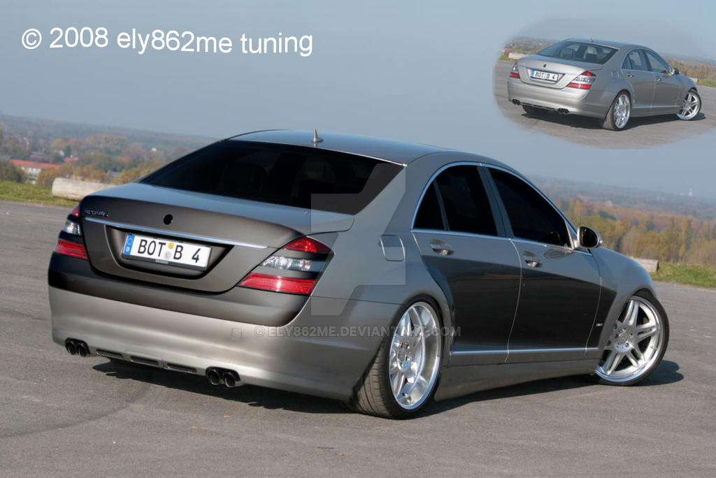 tuning mercedes benz s class by ely862me on deviantart. Black Bedroom Furniture Sets. Home Design Ideas