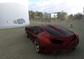 Concept car E055e by ely862me