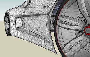 Concept car E055 wires by ely862me