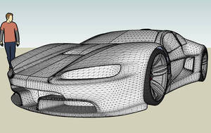 Concept car E055 wires a by ely862me
