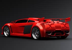 Lamborghini concept a by ely862me