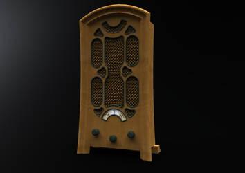 Retro radio by ely862me