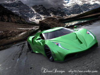 Stealth SR1  concept car by ely862me
