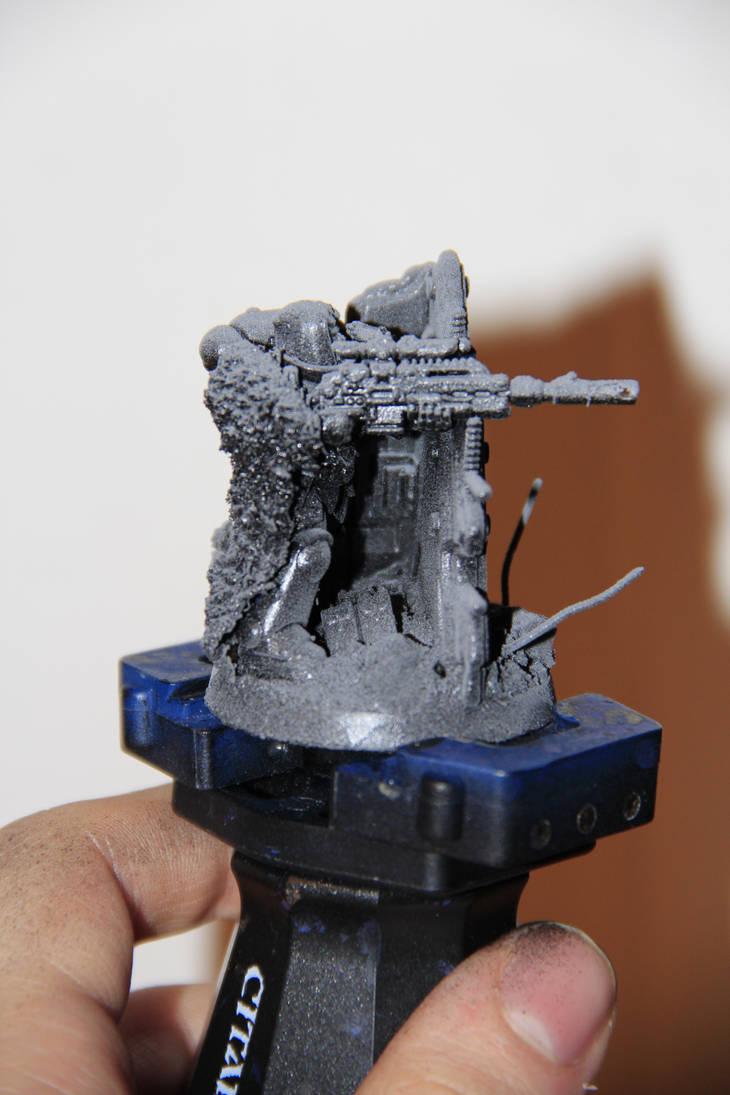Dust Marine WIP 1 by Hetzerfeind