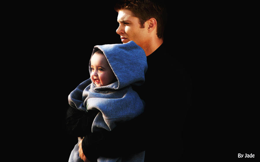 jensen ackles with baby manip by monkeyjade on deviantartJensen Ackles Baby
