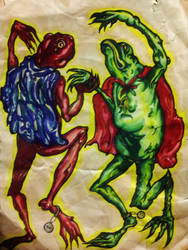 Dancing Medieval Froggery
