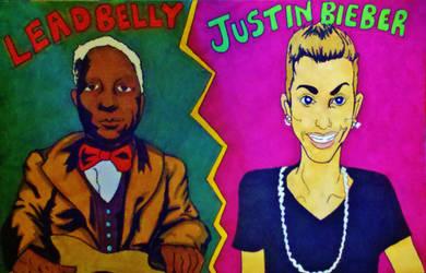 Leadbelly Vs. Justin Bieber