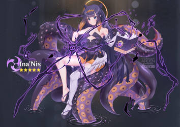 Ninomae Ina'nis x Genshin Impact